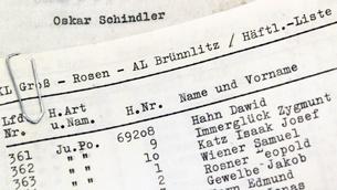 Liste von Oskar Schindler