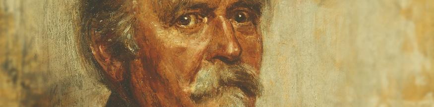 Reproduktion eines Gemäldes von Felix Draeseke