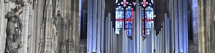Orgel im Wiener Stephansdom
