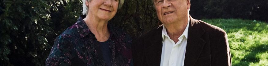 Christine Mann und Frido Mann