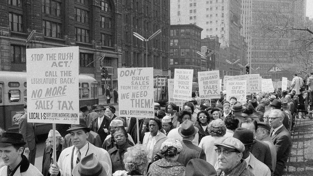 Demonstration in New York, 1963