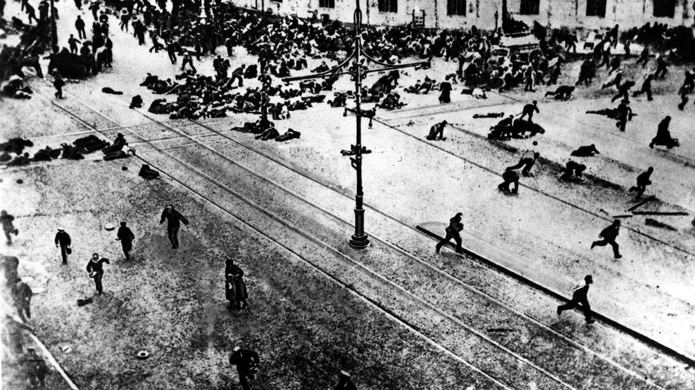 St. Petersburg, 1917