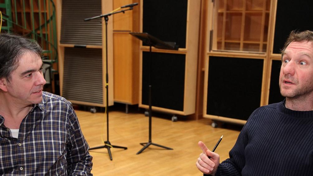 Harald Krewer und Johannes Zeiler