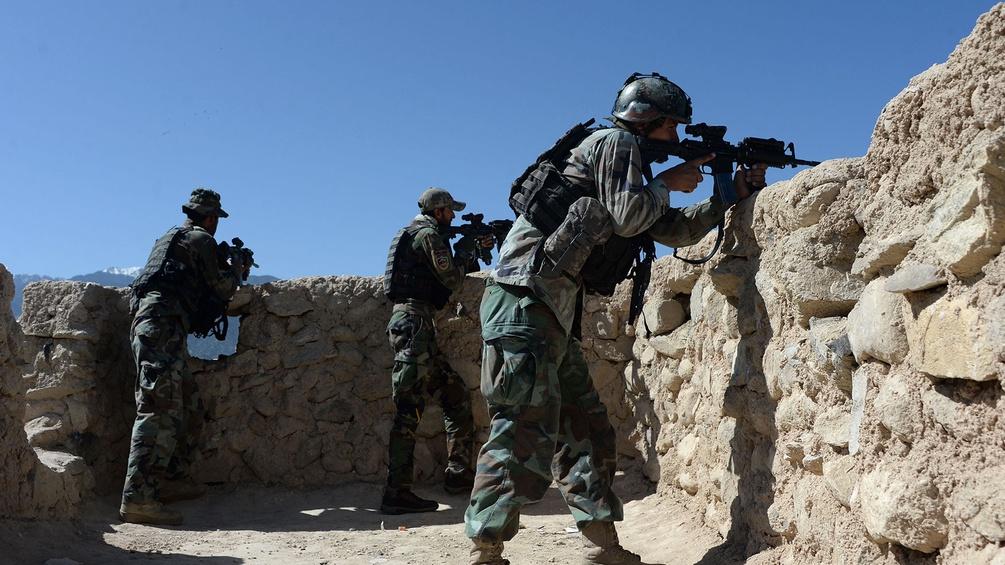 Truppen in Afghanistan