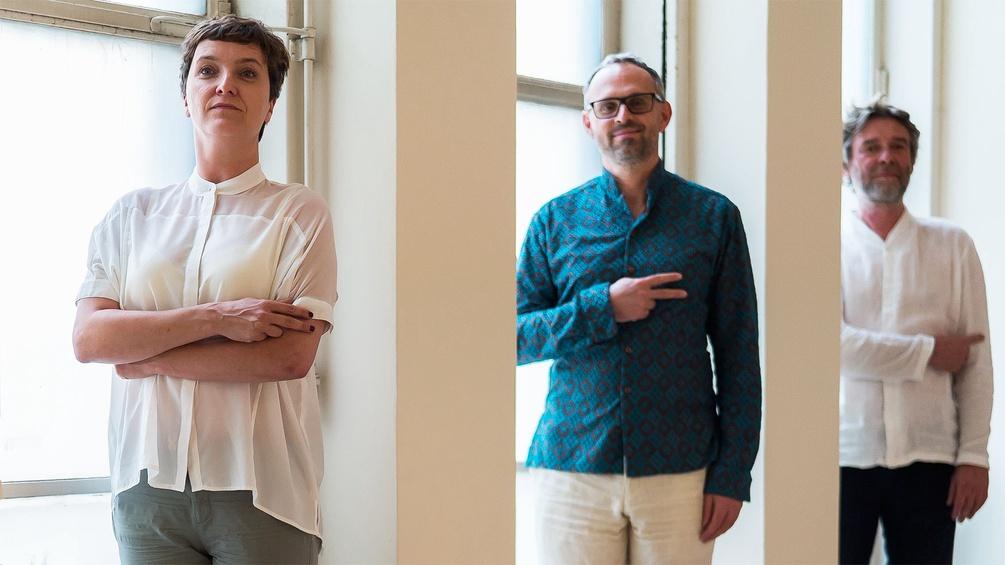 Drei: Elke Tschaikner, Joseph Schimmer, Christian Scheib