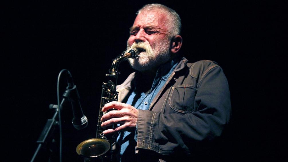 Saxophonist Peter Brötzmann