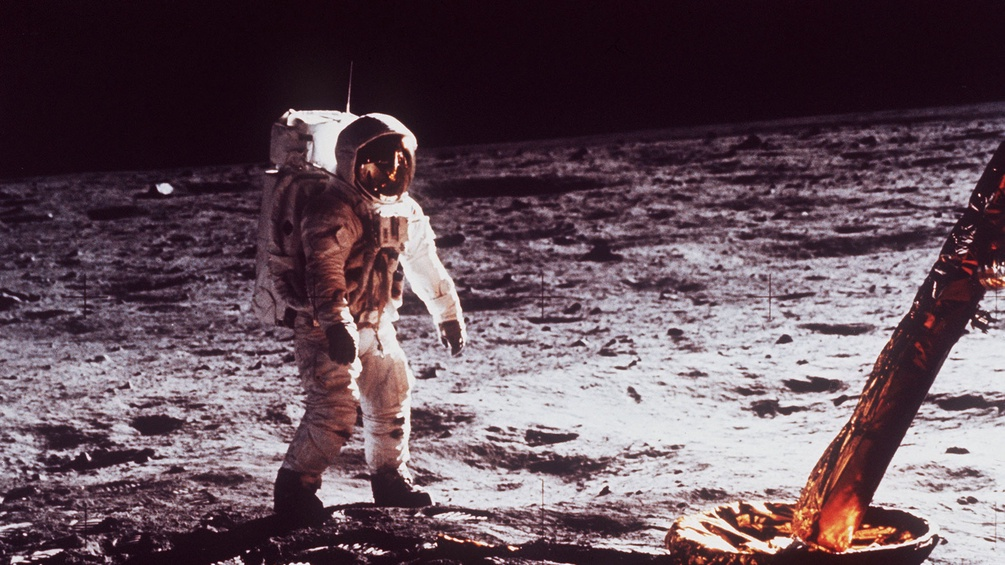 Edwin Aldrin auf dem Mond