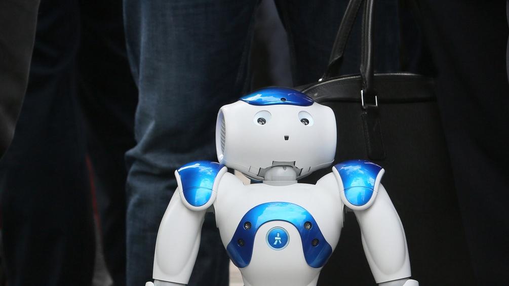 Ein Roboter