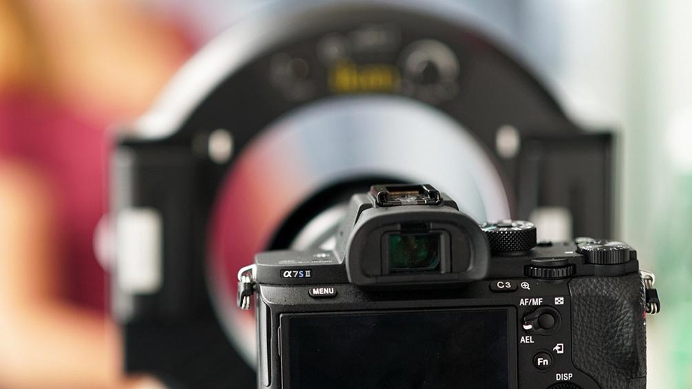 Kamera mit Lichtring
