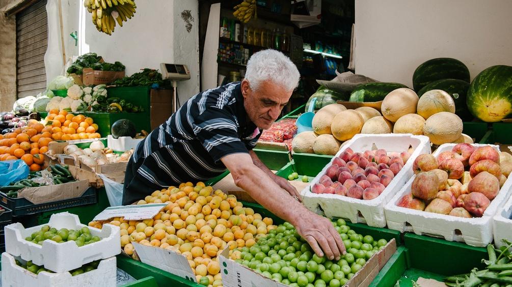 Obsthändler in Beirut