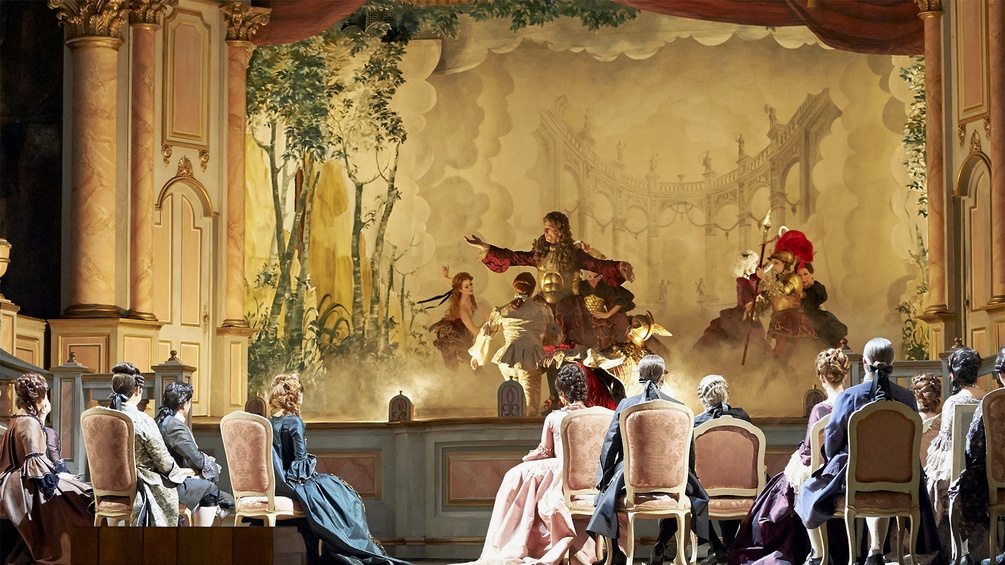 "Szene aus Francesco Cileas ""Adriana Lecouvreur"""