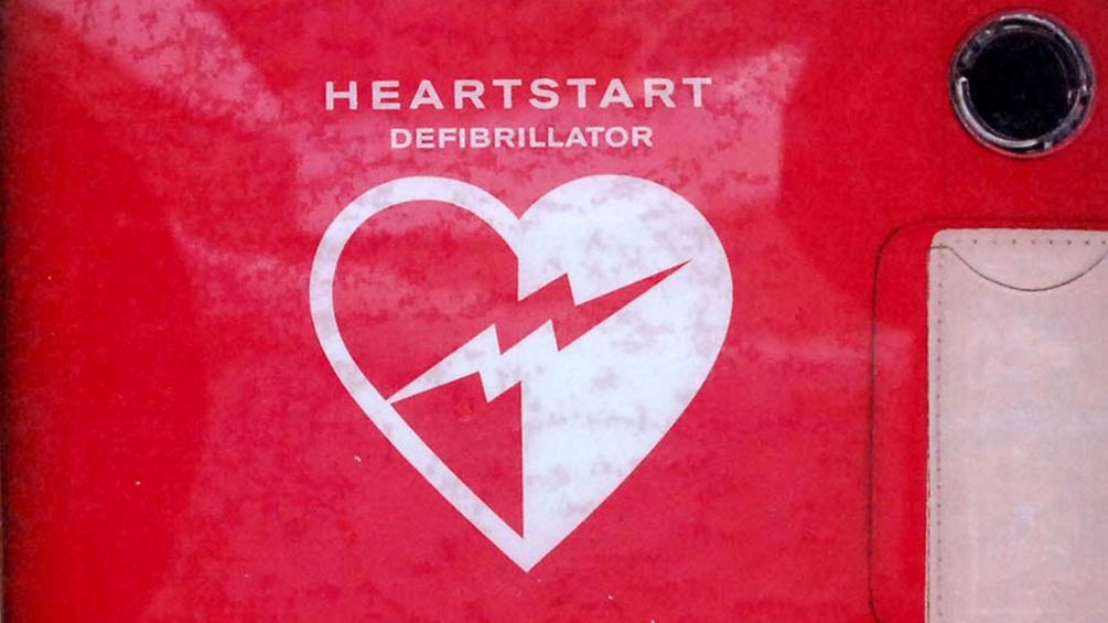 Ein Defibrillator