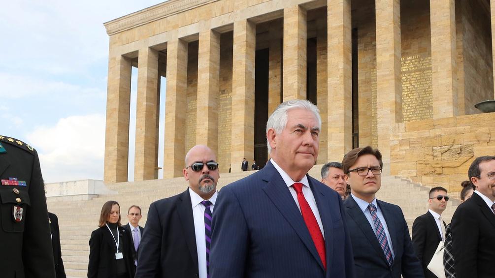 US-Außenminister Rex Tillerson zu Besuch in der Türkei