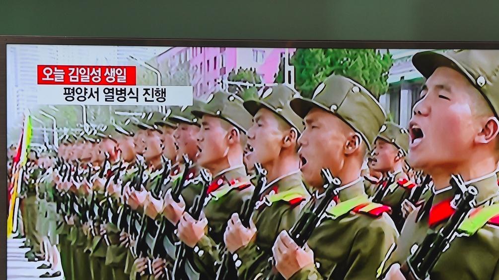 Nordkoreanische Soldten