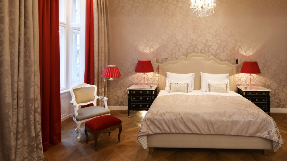 Suite in Hotel Sacher