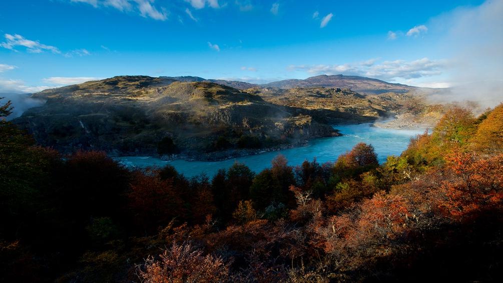 Rio Baker in Herbstfarben
