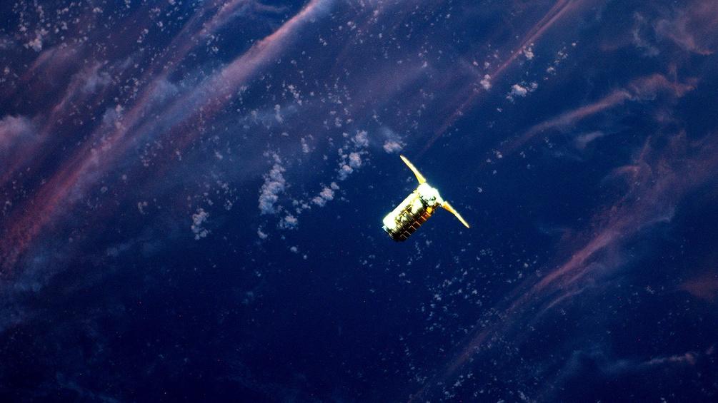 "Die Frachtfähre ""Cygnus"""