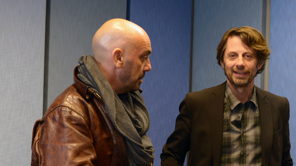 Tomas Zierhofer-Kin und Thomas Edlinger