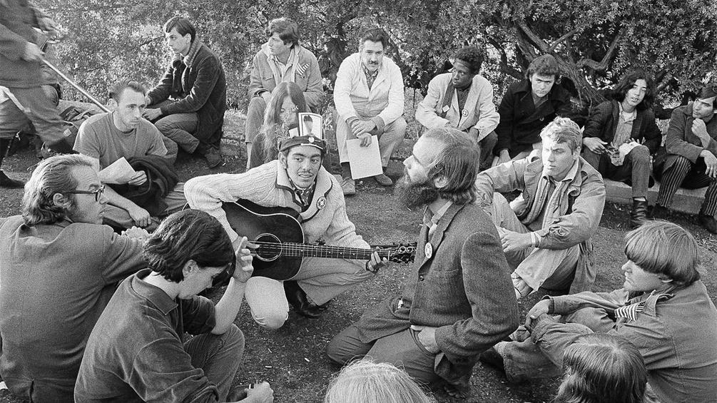 Hippies aus dem Jahr 1967