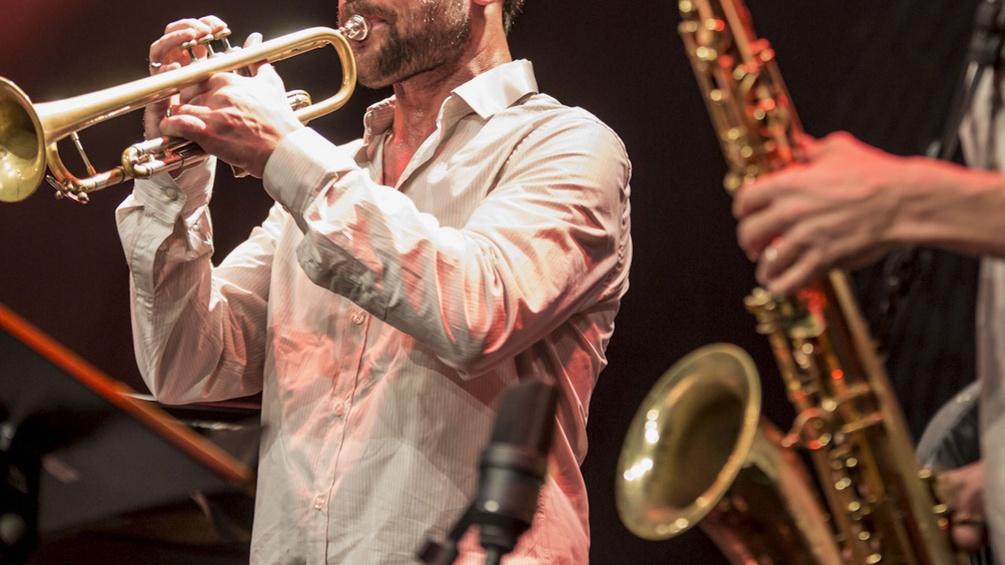 Trompete und Saxofon