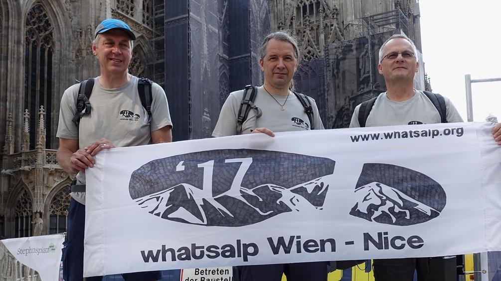 Whatsalp-Kernteam, Stephansplatz