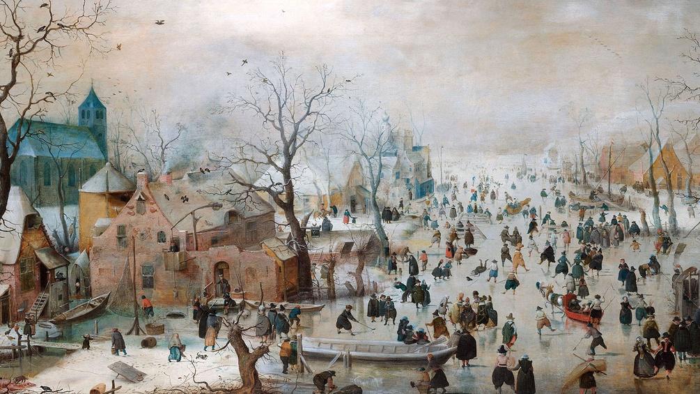 Pieter Breughel, Winterlandschaft