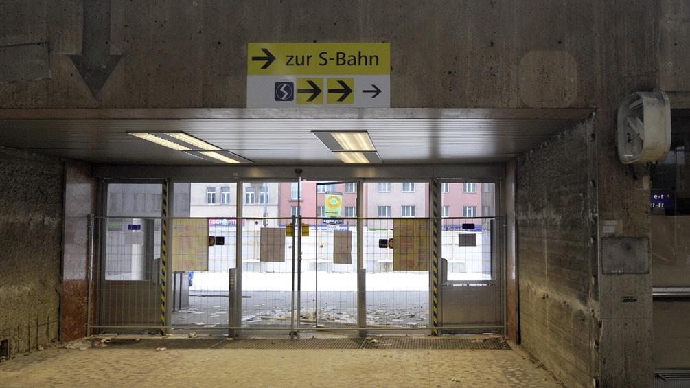 Wiener Südbahnhof vor dem Abriss