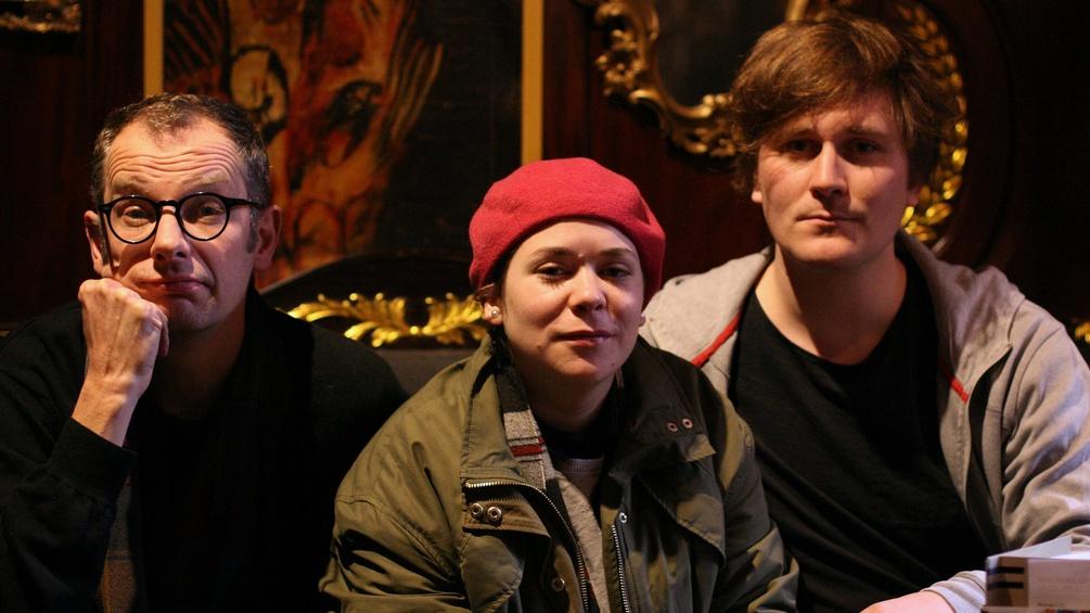 Severin Gröbner, Stefanie Sargnagel und Hosea Ratschiller