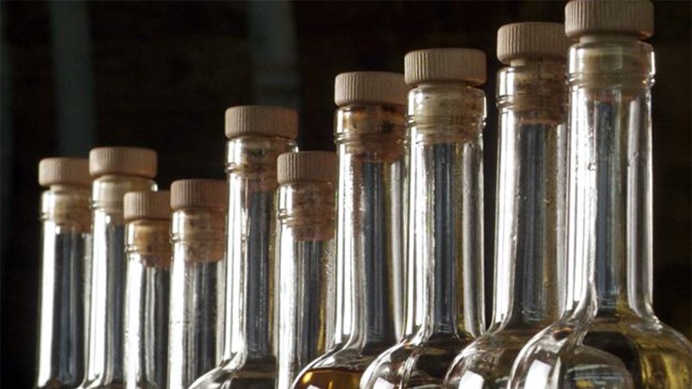 Likörflaschen