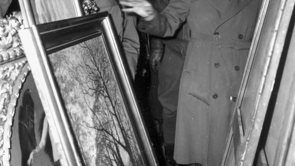 Versteckte, gestohlene Gemälde im 2. Weltkrieg