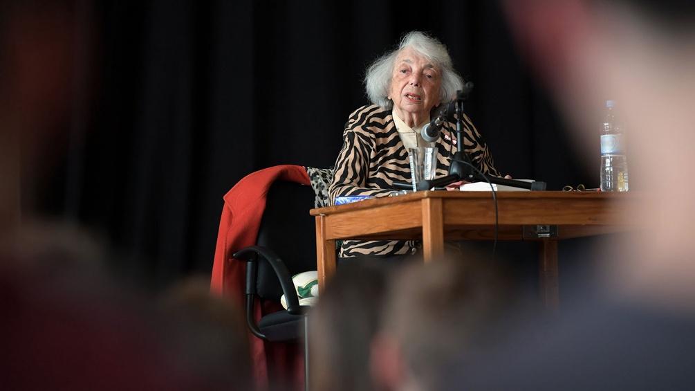 Die Holocaust-Überlebende Margot Friedländer