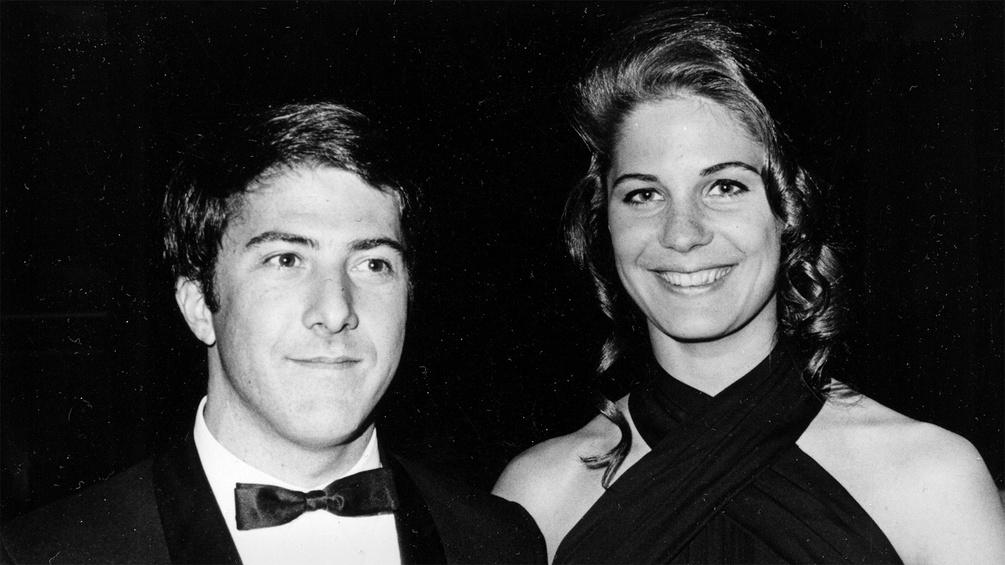 Dustin Hoffman und Anne Byrne
