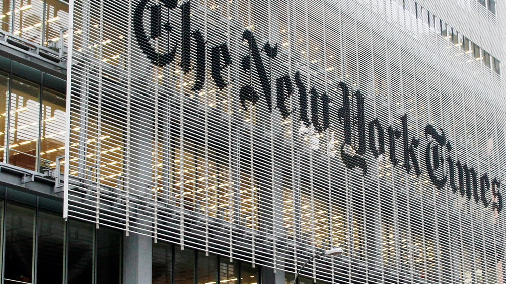 The New York Times Gebäude