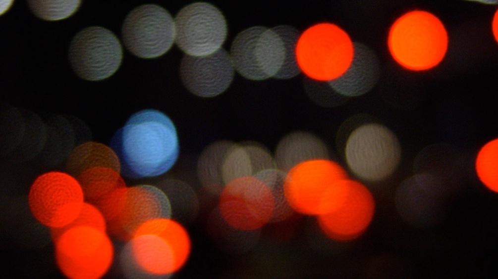 Lichtspiele in der Nacht