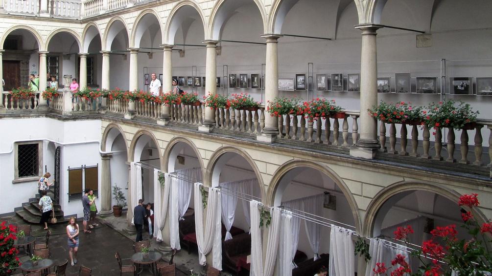 Renaissance-Hof des Palais Kornjakt