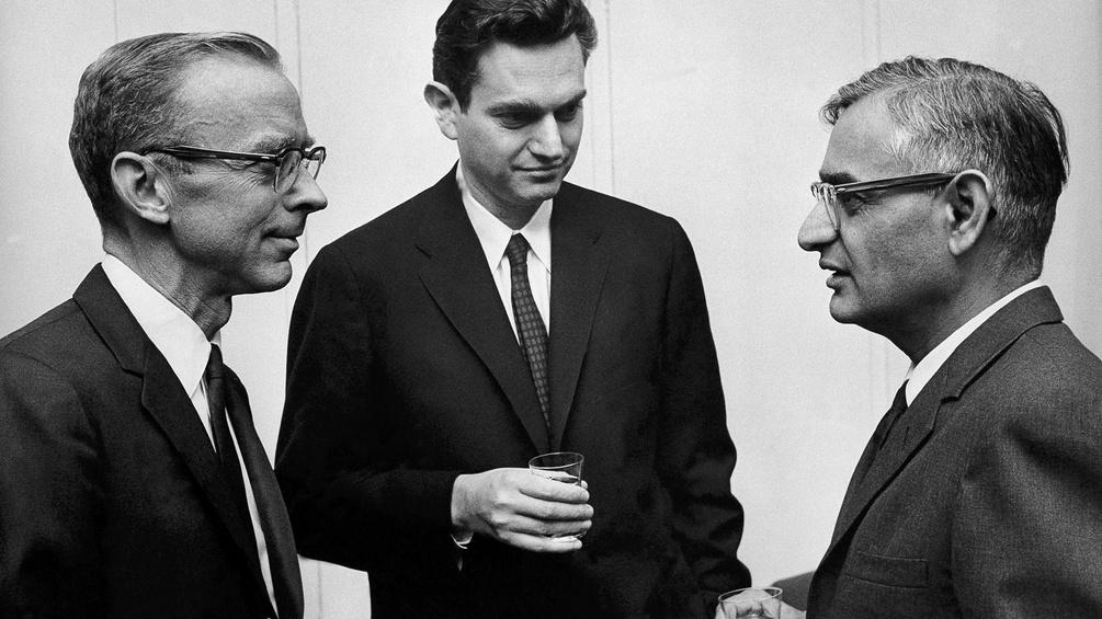 Robert W. Holley, Marshall W. Nirenberg und Har Gobind Khorana