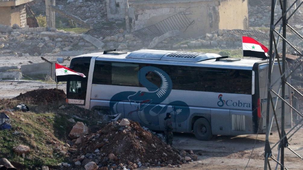Bus in Aleppo