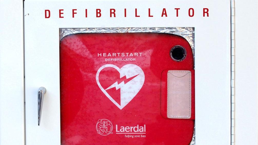 Ein Defibrilator