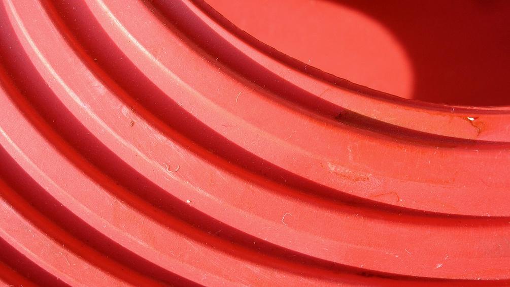 Rote Wellen