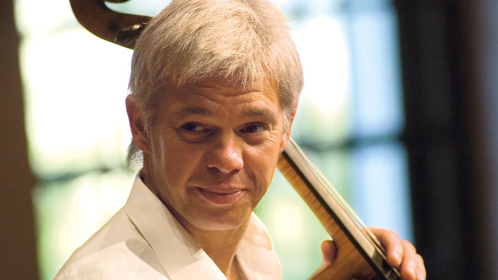 Clemens Hagen mit Cello