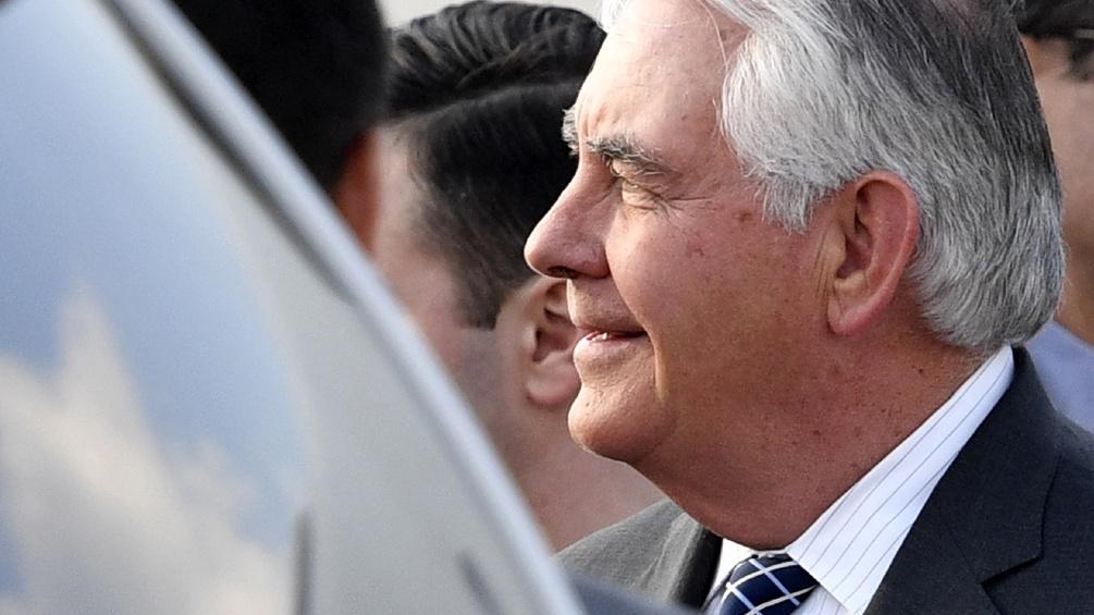 US-Außenminister Rex Tillerson zu Besuch in Moskau