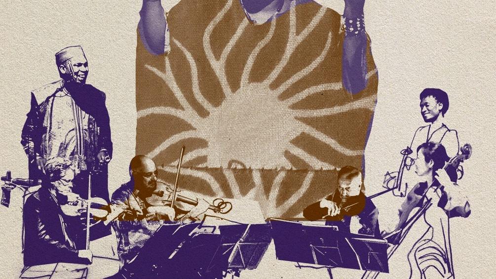 CD-Cover Musiker, gezeichnet