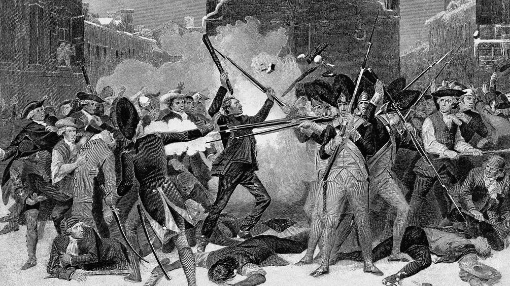 Amerikanischer Revolutionskrieg, 1770