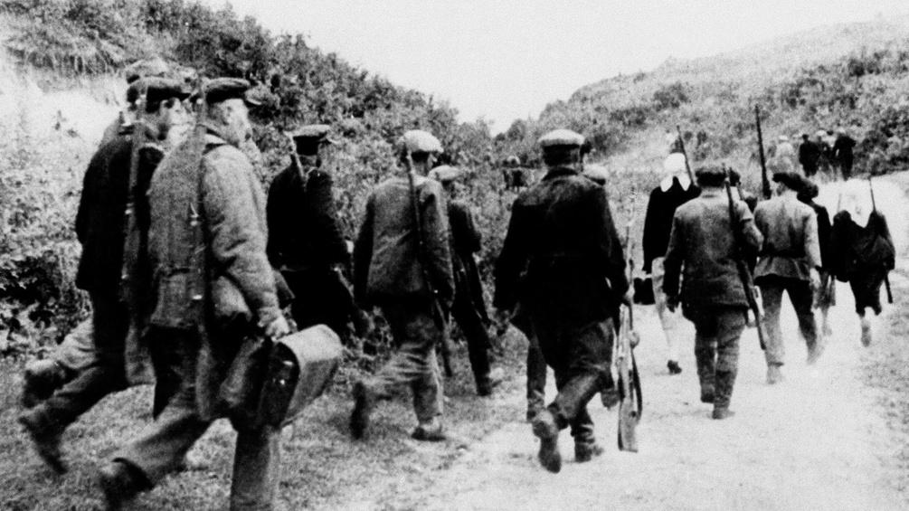 Bewaffnete Revolutionäre, 1917