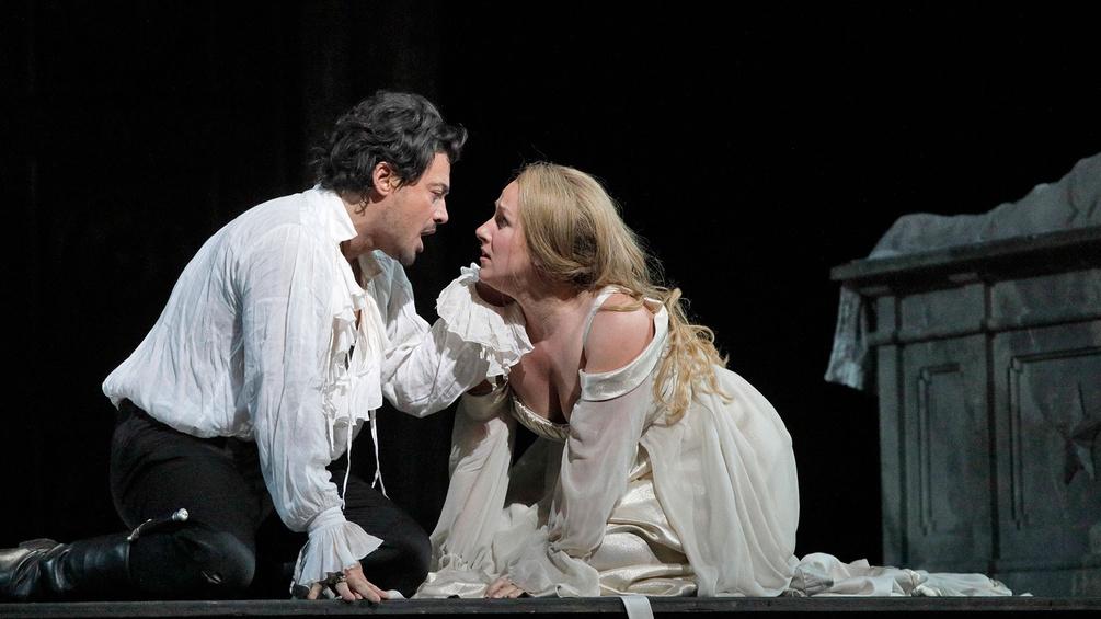 Vittorio Grigolo als Roméo uand Diana Damrau als Juliette
