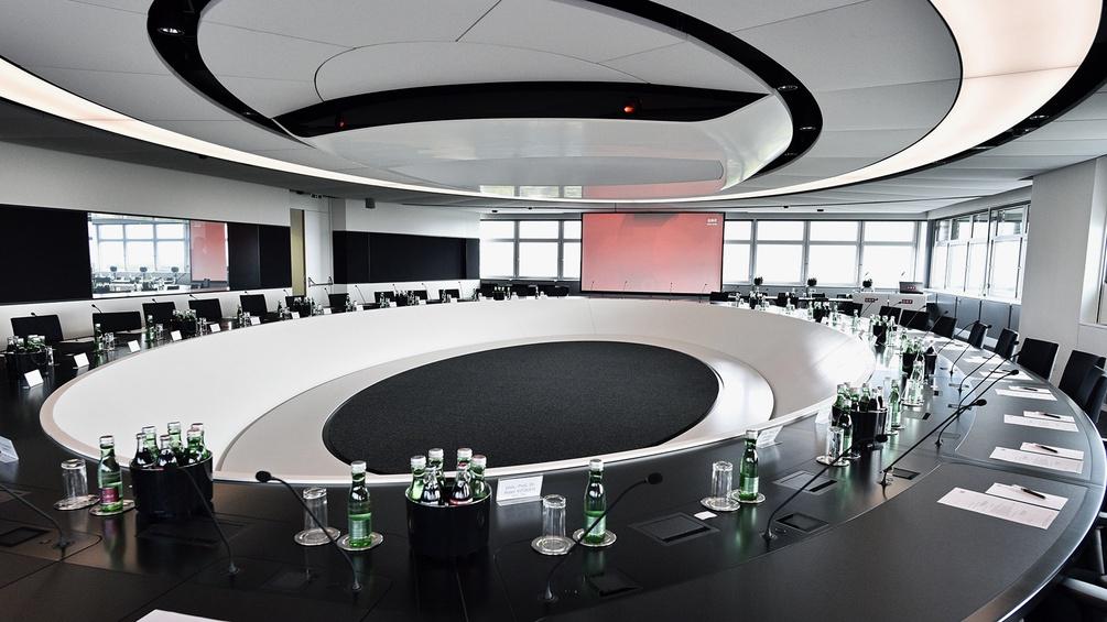 ORF neu gestalteter Sitzungssaal