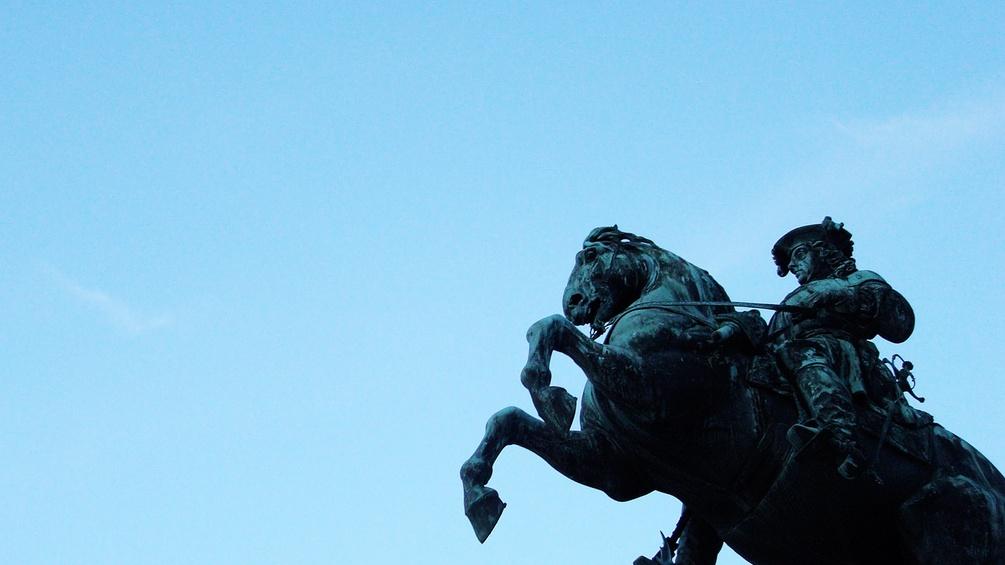 Reiterstatue, Heldenplatz