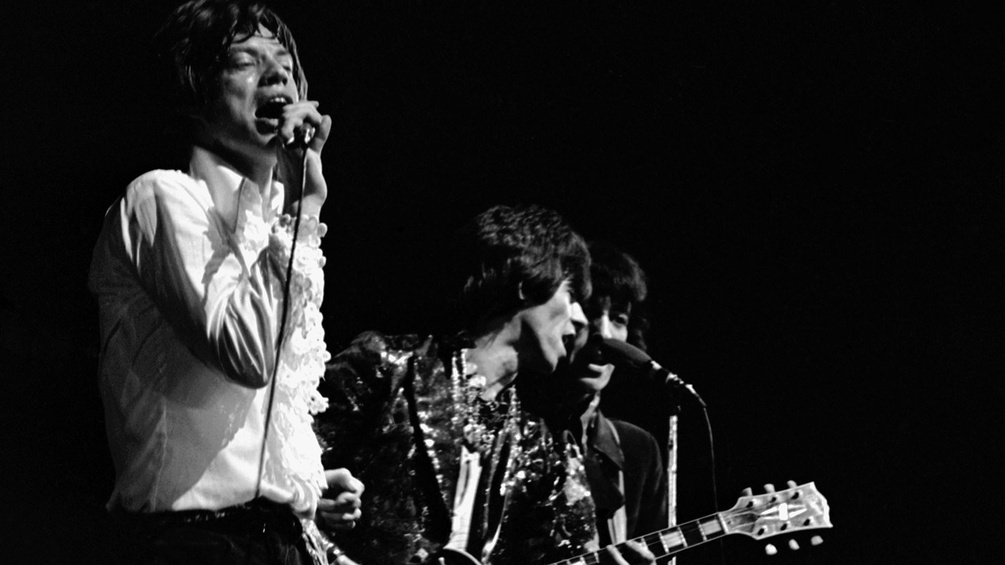 Mick Jagger, Keith Richards und Bill Wyman