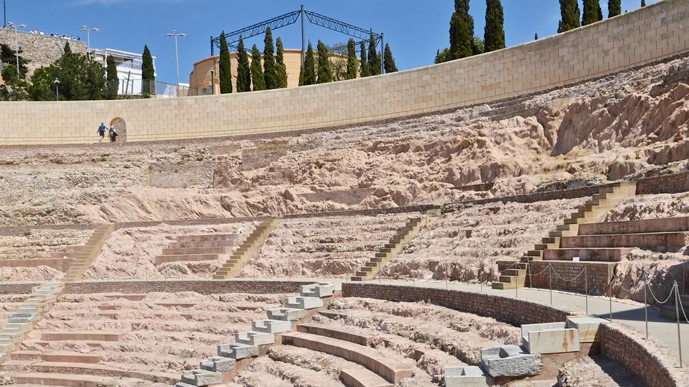 Amphietheater in Karthago
