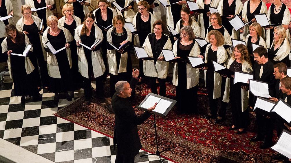 Chor in einer Kirche